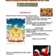 Affiche sortie musee du cirque besalu 23 11 2021