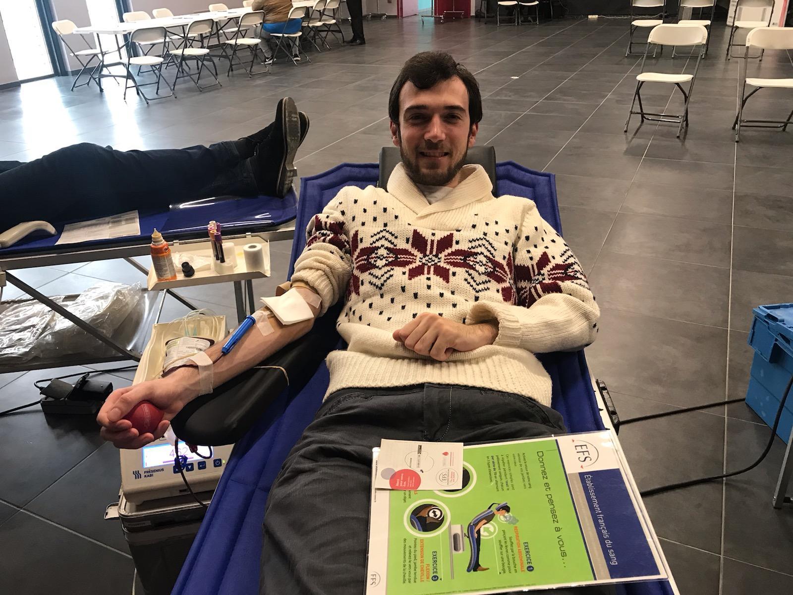 Collecte de sang montady du 18 11 2019 2