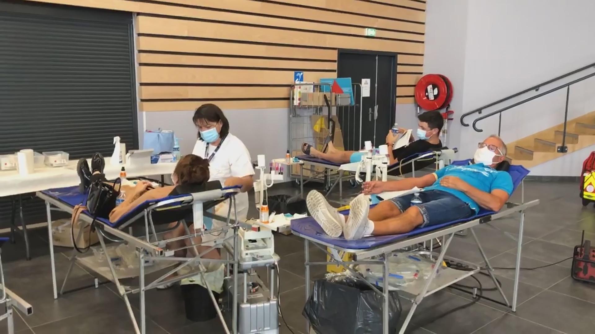 Infirmiere efs avec donneurs montady 01 09 2020