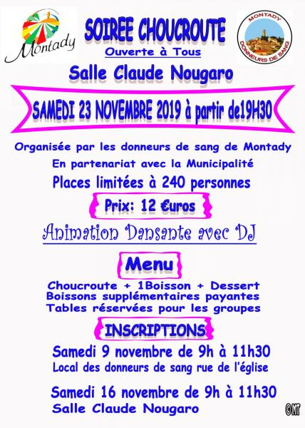 Soiree choucroute 1