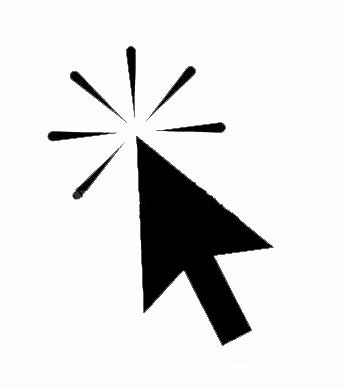 Souris ordinateur clic icone